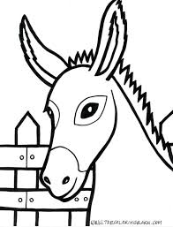 Farm Animals Colouring Pages Free Preschool Coloring Pictures Printable Animal Print