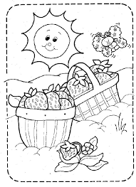 Shown Vintage Strawberry Shortcake Color Page Printable Pages By Category And Popular