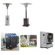 Outdoor Air Cooler & Patio heaters Rental in Dubai CoolMaster