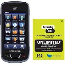 Straight Talk Samsung T528G Refurbished Prepaid Cell Phone w Bonus