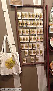 Retail Window Display Jewelry Displayed On A Rustic Wooden Frame