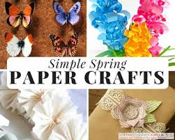 Paper Craft Ideas Are So Much Fun To Make Especially When You Have A Pretty Spring Color Palette Work With Since We Love Projects And