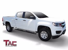 TAC Texture Side Step For 15-18 Chevy Colorado/GMC Canyon Crew Cab ... Toyota Hilux Stainless Steel Side Bar Steps 2012 2015 Imob Auto Fiat Fullback Inox Tva Styling Nerf Bars Running Boards Installation Monmouth County Quality Amp Research Powerstep Truck Centex Tint And Accsories Carr Super Hoop Bully Black Bull Alinum Matte 7 Step 1 Amazoncom Smittybilt Dn230s4b Sure Gloss 3 Ici Magnum Rt Series 2017 Toyota Tacoma Limited 6 Bed Extang Encore Tonneau Cover Bedstep Pickup Truck Accsories Autoparts By Worldstylingcom