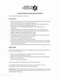 Resume Objective For Kitchen Staff Lovely Sample Download Now Free Cover Letter Builder