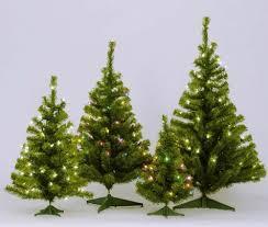 Flocked Tabletop Christmas Tree