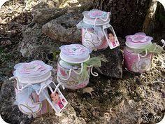 petit pot pour dragees petits pots bébé pour baptème le de lili fleur