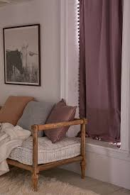 Plum And Bow Pom Pom Curtains by Blackout Pompom Curtain Urban Outfitters