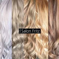 100 Fritz 5 Salonfritz Salon Shades Of BLONDE Frisr