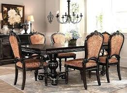 Raymour And Flanigan Dining Set Room 3 5 7 Sets Glass Formal Modern