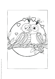 Bird Printable Coloring Pages Page Free