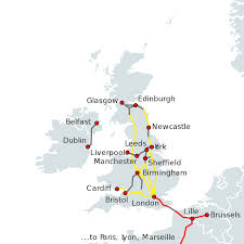 Highspeed Rail In The United Kingdom Wikipedia