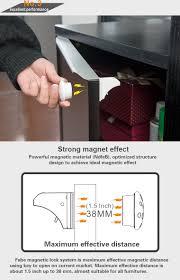 Magnetic Locks For Glass Cabinets by Cabinet Door Magnet Lock Best Home Furniture Design