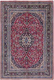 Red 6 7 x 9 8 Kashmar Persian Rug Persian Rugs