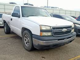 100 2006 Chevy Trucks For Sale Salvage Chevrolet SILVERADO Truck For