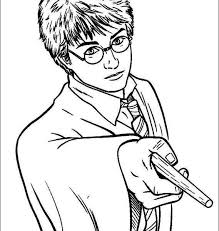 Coloring Pages Harry Potter To Print Fresh On Decor Desktop A Part Of 10 Photo