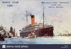Rms Olympic Sinking U Boat by White Star Line Steamer Stock Photos U0026 White Star Line Steamer