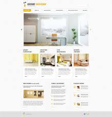 100 Home Interior Website Decor Responsive WordPress Theme
