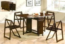 table et chaise pliante table cuisine pliante avec chaises