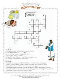 Bible Crossword Puzzle Joseph