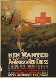 Men Wanted Over 31 Years Of Age For American Red Cross Foreign Service War Propaganda Poster Pictures And Photos