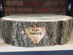 Vintage Log Wedding Cake Stand To Hire Essex In Home Furniture DIY
