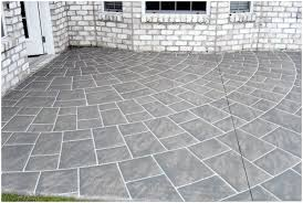 Patio Flooring Ideas Uk by Backyards Trendy Painting Patio Concrete Ideas Backyard