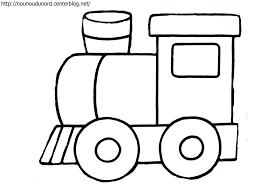 Train Locomotive 143 Transport Coloriages à Imprimer