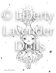 Printable Coloring Sheets Set No 2 Three Pages Digital PDF Files Only