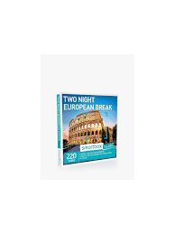 100 John Lewis Hotels Smartbox 2 Night European Minibreak Gift Experience
