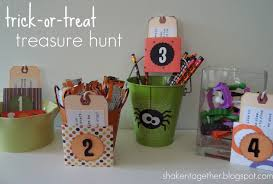 Easy Halloween Scavenger Hunt Clues by Trick Or Treat Treasure Hunt Halloween Scavenger Hunt