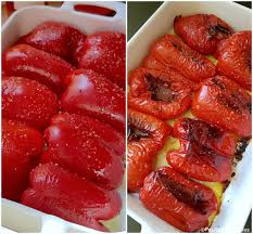cuisiner les poivrons gratins de poivrons à la mozzarella