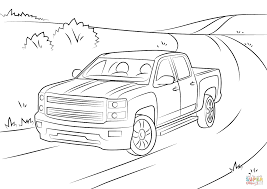 Chevy Silverado Coloring Pages - A-k-b.info