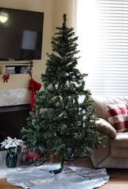 DIY Flocked Christmas Tree Senseful Style