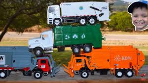 100 Trash Trucks Videos Colorful Picking Up Garbage L Garbage Rule L