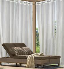 Striped Sheer Curtain Panels by Indoor U0026 Outdoor Grommet Top Curtains And Panels Thecurtainshop Com