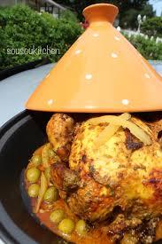 cuisine marocaine en cuisine marocaine poulet à la marocaine sousoukitchen
