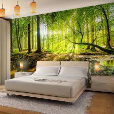 runa fototapete wald bach modern vlies wohnzimmer schlafzimmer flur made in germany grün braun 9141010a