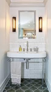 gray moroccan tiles contemporary bathroom derosa builders