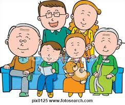 Family With Grandparents Clipart ClipartXtras