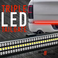 TRIPLE LED Tailgate Light Bar W/ Sequential Amber Turn Signal How To Install Access Backup Led Tailgate Light Bar Youtube Lighted Waterproof Running Reverse Brake Turn Signal Best Under Tailgate Light Bar 042014 F150 Bars 60 Double Row Truck Strip Red White Tail 60inch 2row Buy Partsam Signaldriving7443 Redwhite Stop Oracle Lighting 3824504 Extreme Series Xkglow Xk041017 5function Led Suppliers Dual For Pickups
