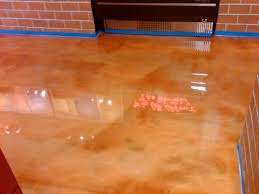 stained cement floors epoxyflooring sted concrete