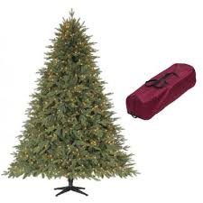Harrows Artificial Christmas Trees by Martha Stewart 7 5 Ft Monterey Fir Quick Set Artificial Christmas
