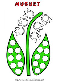 Dessin De Muguet A Imprimer Gratuit Sensationnel Pages De Coloriages