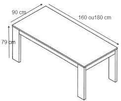 table de salle à manger design laqué blanc judy buffet bahut