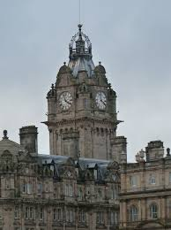 100 Edinburgh Architecture Scotland February Building Clock Tower U K