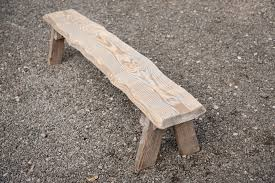 Beautiful Rustic 4ft Bench With No Back