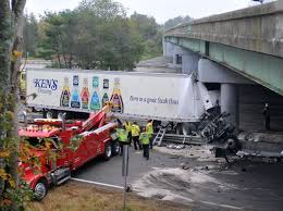 Tractor-trailer Hits Abutment On I-495 In Mansfield, Causes Massive ... This Truck Just Smashed Into An Overpass At Full Speed Time Driver Killed In I26 Crash Identified Orangeburg County Overpass 3 Trucks Hit Linden In 1 Week Youtube Driver Hits Pennsylvania And Keeps Driving For Miles Oversize Load Collides With Highway Chilliwack Scanlon Pine Journal Tctortrailer Rail Newark Cops Toilet Paper Truck Northern State Parkway Newsday Semi I20 Slamming Is The Most Satisfying Thing I Carrying Crane I15 Utah Fox13nowcom What Tractor Trailer Hits On Belt The Brooklyn