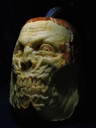 Walking Dead Pumpkin Designs by I Turn Pumpkins Into Freaks By Carving Them Bored Panda
