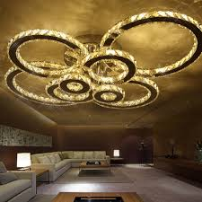 dimmable modern indoor led ceiling lights for home living room