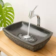 marmor waschbecken anthrazit mara 50x35x11 cm eckig kaufen